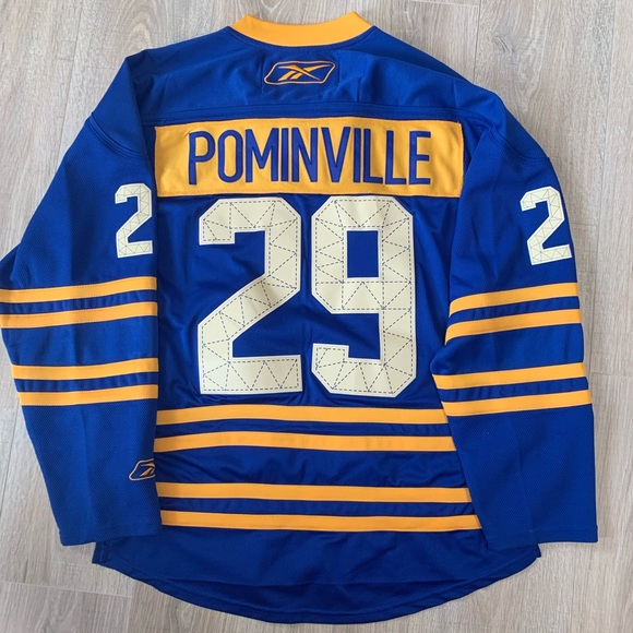 brand new 959f2 7ab76 Vintage Buffalo Sabres Jason Pominville Jersey